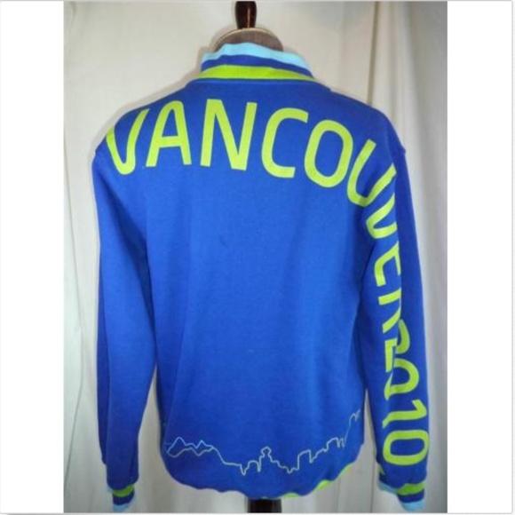 869e8747174a 2010 Vancouver Winter Olympics Warmup Jacket (NE)